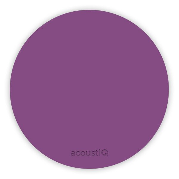 acoustIQ Grand Slam Practice Pad (Purple)