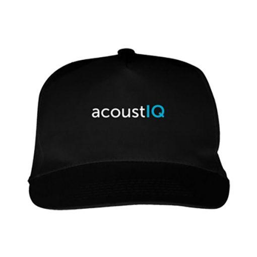acoustIQ Baseball Cap (Black)