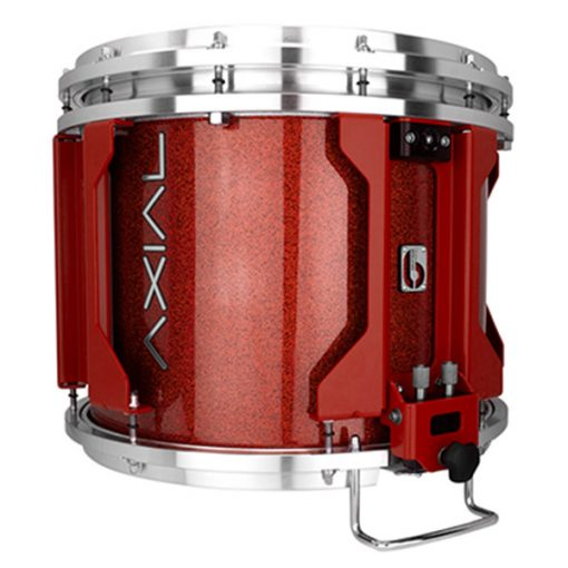 British Drum Co AXIAL Snare Drum (Cosmic Red Sparkle)