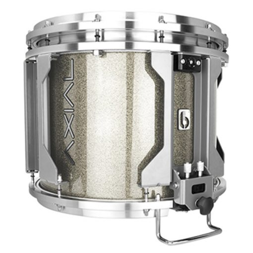 British Drum Co AXIAL Snare Drum (Cosmic Silver Sparkle)